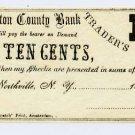 New York, Northville, B.N. Lobdell, 10 Cents, 186-, (1862-63)
