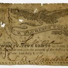 New York, Penn Yan, L.B. Mandeville, 25 Cents, July 4, 1837