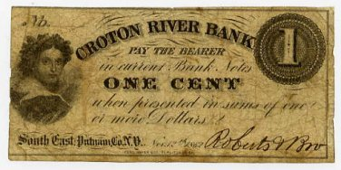 New York, South East (now Brewster), Roberts and Brother, 1 Cent, Nov 12, 1862