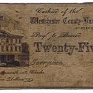 New York, Tarrytown, Odell & Clark, 25 Cents, Oct 18, 186(2)
