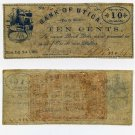 New York, Utica, Issac J. Knapp, 10 Cents, November 1, 1862