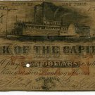 New York, Albany, Bank of the Capitol, $10, Aug 1, 1851?