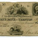 New Jersey, Trenton, State Bank at Trenton, $3, June 7, 1824