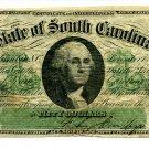 State of South Carolina, Columbia, $50, December 1, 1873