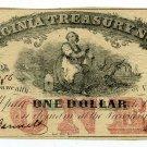 Virginia, Richmond, Virginia Treasury Note, $1, July 21, 1862