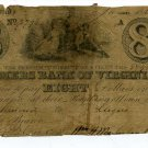 Virginia, Richmond, Farmers Bank of Virginia, $8, January 14, 1860