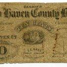 Connecticut, New Haven, E.E. Hall, 10 Cents, August 7, 1862