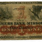Missouri, Lexington, Farmers Bank of Missouri, $1, Dec 1?, 1861