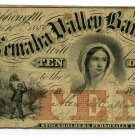 Nebraska Territory, Brownsville, Nemaha Valley Bank, $10, November 10, 1856
