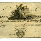 Maryland, Baltimore, Farmers and Merchants Bank, $10, 1810s