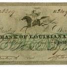 Louisiana, New Orleans, Bank of Louisiana, $20, May 22, 1862