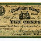 New York, New York City, Manchester & Stackellar, 10 cents, November 20, 1862