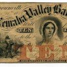 Nebraska Territory, Brownsville, Nemaha Valley Bank, $10, Nov 10, 1856