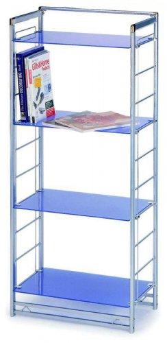 S-UNIT Blue End Shelf Unit by NewSpec
