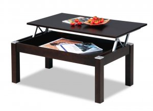Modern Style Coffee Table with Storage
