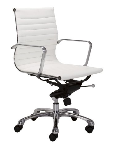 Contemporary Washable Leatherette 'Leader' Office Chair