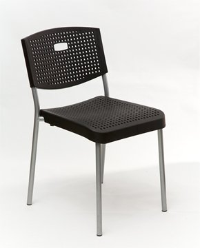 Contemporary Stackable Chair - Patio Ready (Set of Two)