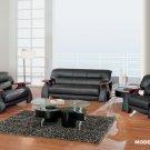 Global Furniture 2033 Sherman Leather Living Room Set