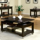 Contemporary Lift Top Wood Coffee Table NEW