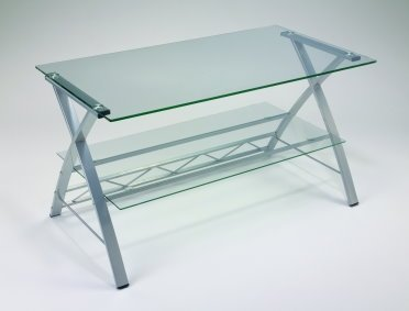 Glass Modern Coffee Table or TV Stand Free Shipping