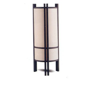 Modern Asian Style Contemporary Pair of Table Lamps