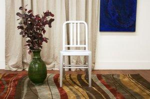 The Navy Chair Emeco Style Modern Aluminum Chair