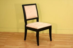 Classic Upholstered Dining Room Office Chairs Set of 2