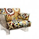 Modern Clear Ghost Acrylic Fabric Armchair Arm Chair