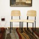 Standard Chair Style Mid Century Modern Dining Set