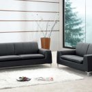 Tribeca Leather Couch Sofa & Love Seat Living Room Set