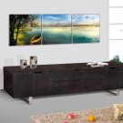 Wood Television TV Stand Entertainment Console New 2100