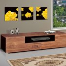 Wood Television TV Stand Console Entertainment Center