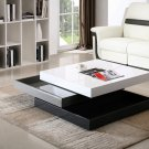 Modern Contemporary Rotary/Swivel Coffee Table With Storage