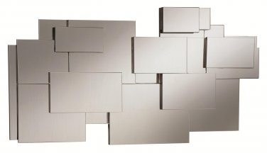 MODERN CONTEMPORARY ACCENT STACKED WALL MIRROR BY COZY�