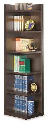 MODERN CONTEMPORARY BOOKCASE CORNER BOOKCASE BY COZY�