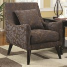 ACCENT SMOOTH TRANSITIONAL SEATING CHAIR AND UPHOLSTERED SLEEK DESIGN BY COZY™