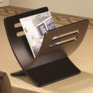 ACCENT CURVY CAPPUCCINO MAGAZINE RACK BY COZY ™