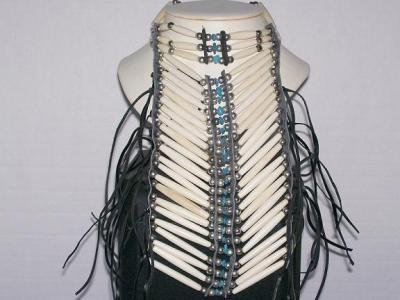 Breast Plate With Turquoise - TBM-BBP-001