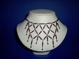 Violet Lolite Faceted Stone Necklace - TBM-GSN-007