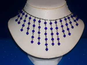 Cobalt Blue Celestial Necklace / Choker - TBM-SCNC-007