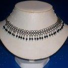 Choker  Black Onyx Stone Beads - TBM-GSC-005