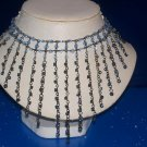 Necklace / Choker Sapphire Crystals - TBM-SCNC-011