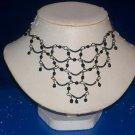 Necklace / Choker Black Onyx & Gem Stones - TBM-GSN-027