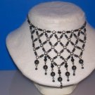 Necklace / Choker 8 mm Round Hematite  -TBM-SCNC-015