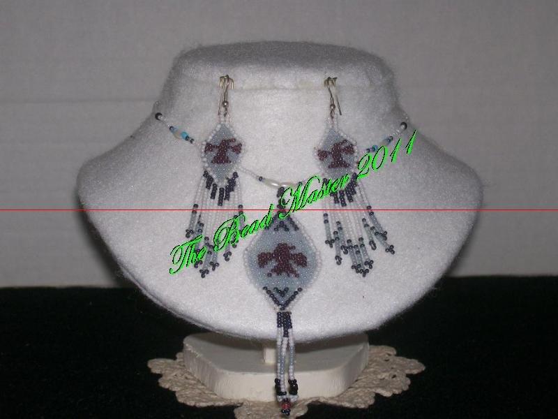 Western Design Necklace & Earrings - TBM-BNS-001