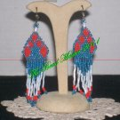 "Western Design Earrings  3"" Long - TBM-BE-001"