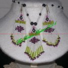 Western Design Necklace & Earring Set - TBM-BNS-002