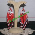 "Western Design Earrings  3"" Long - TBM-BE-002"