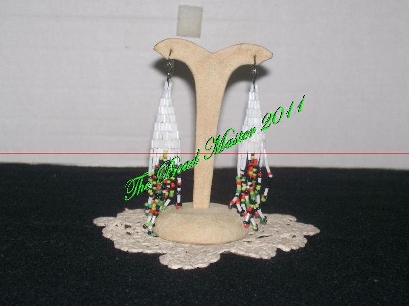 """Western Design Earrings  3.5"""" Long - TBM-BE-003"""