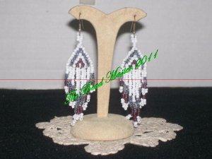 """Western Design Earrings  3.25"""" Long -  TBM-BE-005"""